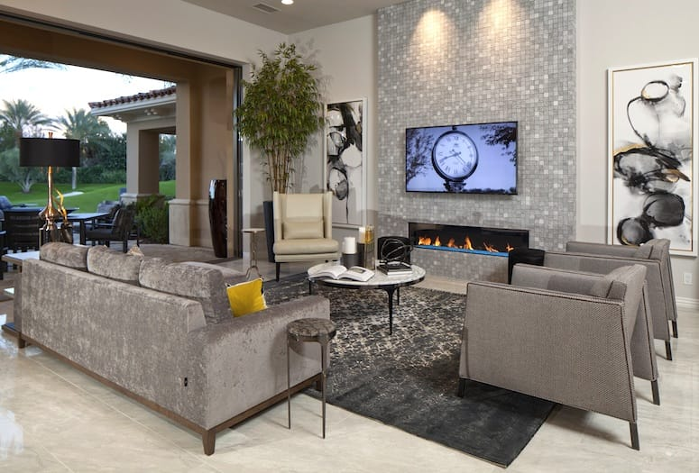 Toscana Country Club Installs Modern Interior