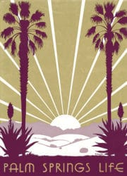 Palm Springs Life Vintage Cover Art 1938