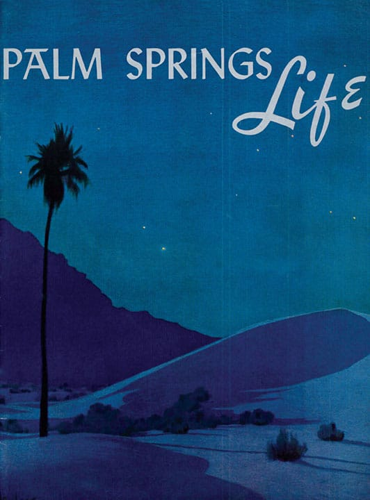 Palm Springs Life Vintage Cover 1941
