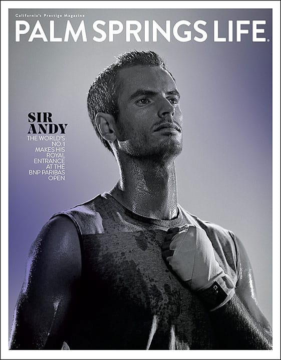 Palm Springs Life Magazine March 2017 (Tennis Cover)
