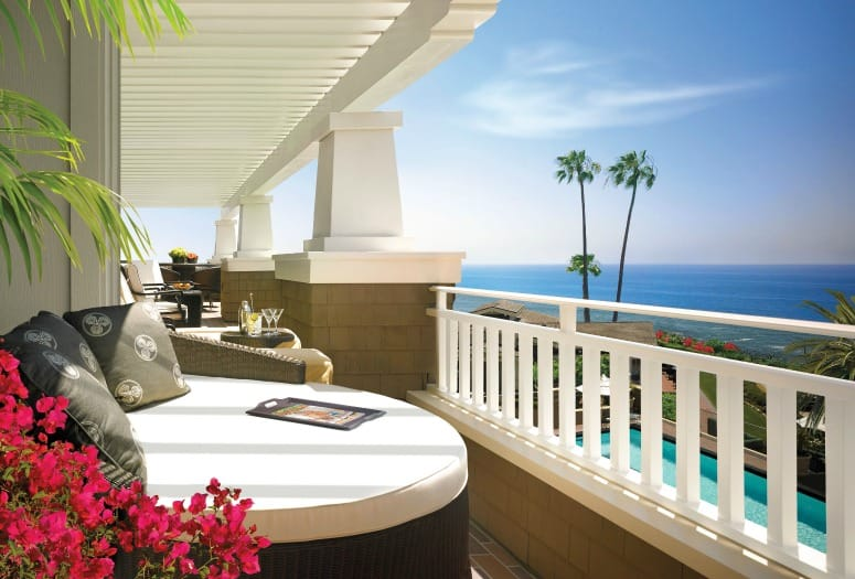 Ocean view from balcony of Architectural Catalina Suite