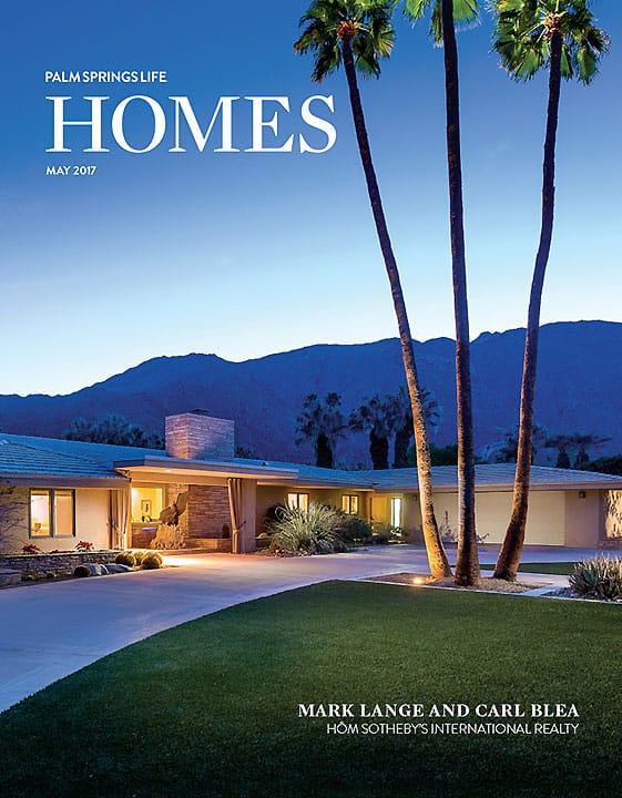 Palm Springs Life Homes May 2017