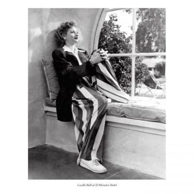 Lucille Ball at Mirador Hotel