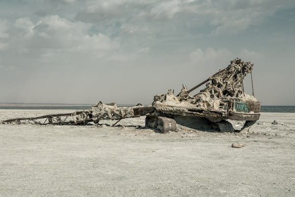 Salton sea crisis has silver lining for Salton sea fishing