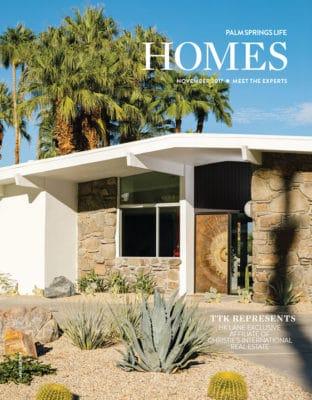 Palm Springs Life Homes November 2017 cover