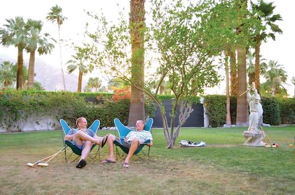 Palm Springs Couple Rejuvenate Movie Colony Home