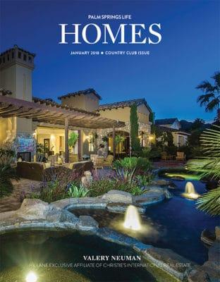 Palm Springs Life HOMES January 2018