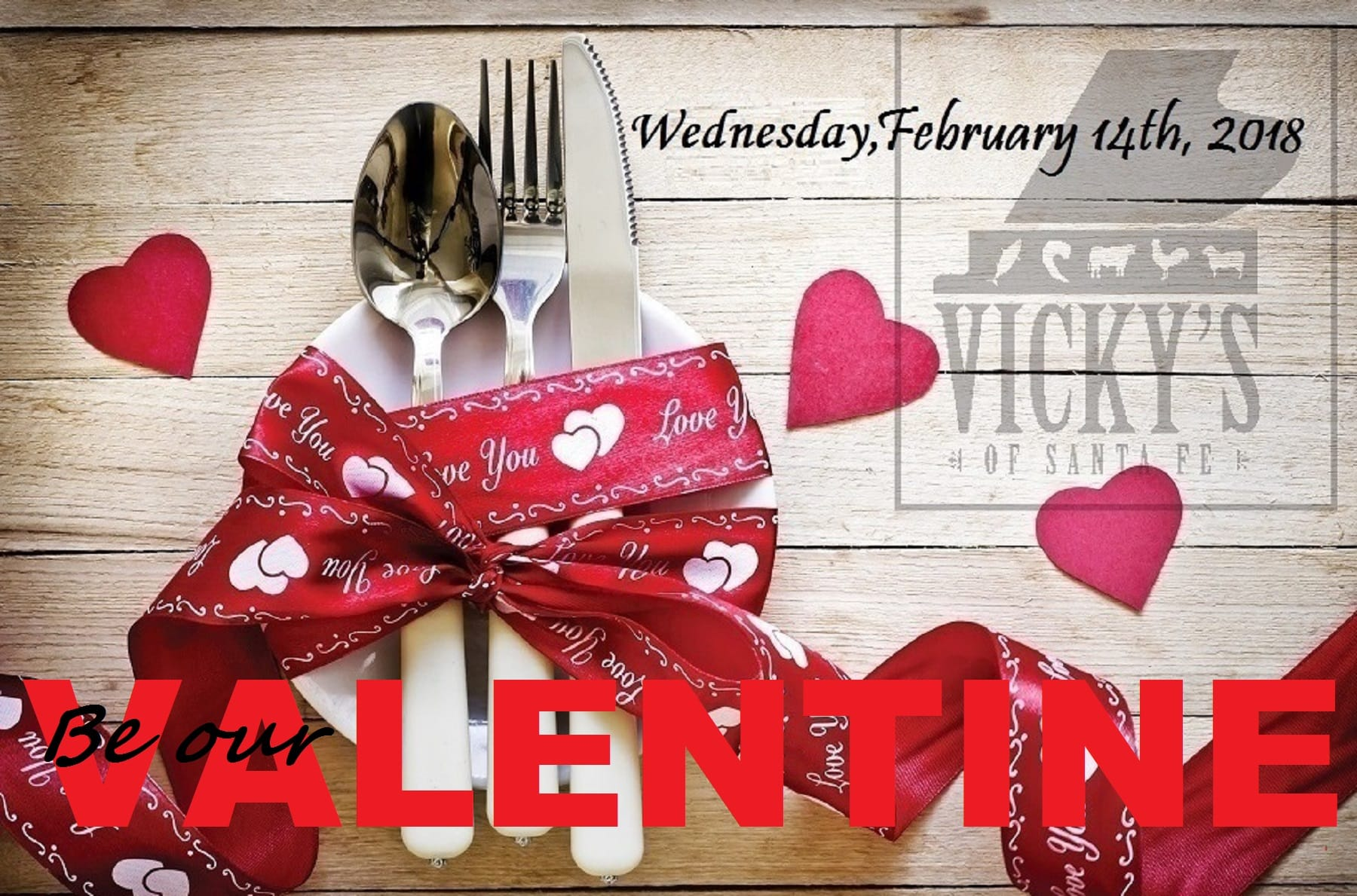 Celebrate Your Valentine With Dinner U0026 Music At Vickyu0027s Of Santa Fe In  Indian Wells