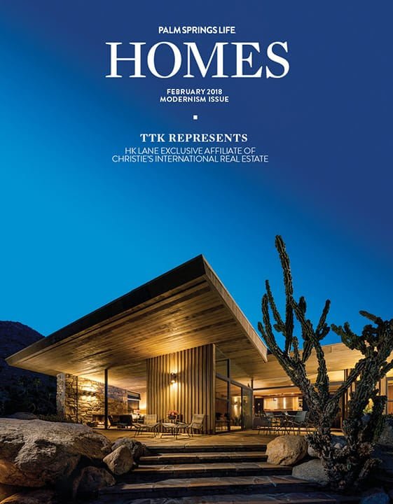 Palm Springs Life Homes February 2018