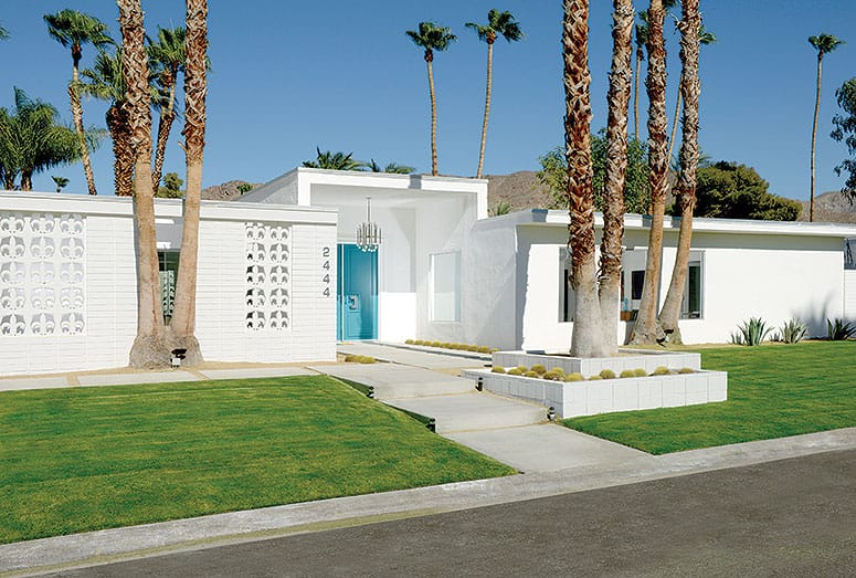 Palm Springs Midcentury Modern Architecture Remodel