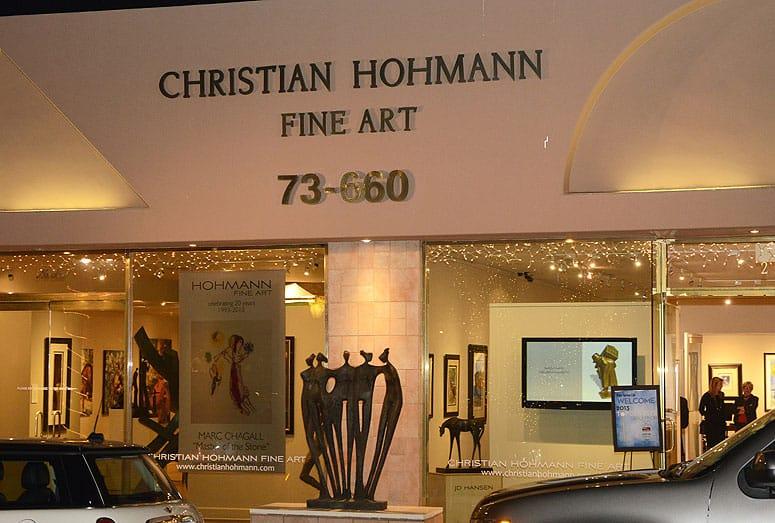 Top Dentist Reception Christian Hohmann Art Gallery El