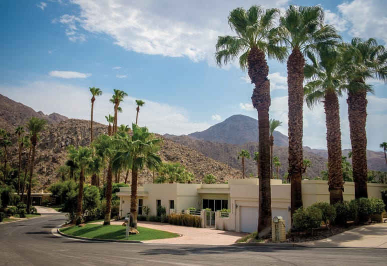 Some 100 miles east of Los Angeles, yet a world apart, lies Indian Wells,  Calif., an extraordinary residential and resort community nestled at the  foothills ...