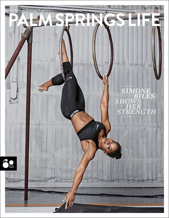 Palm Springs Life March 2018 Simone Biles