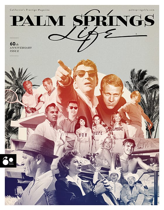 Palm Springs Life April 2018 cover