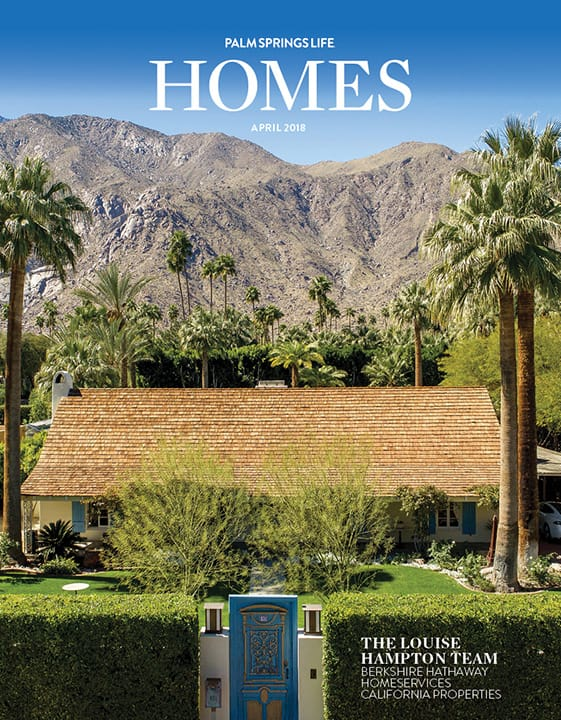 Palm Springs Life HOMES April 2018