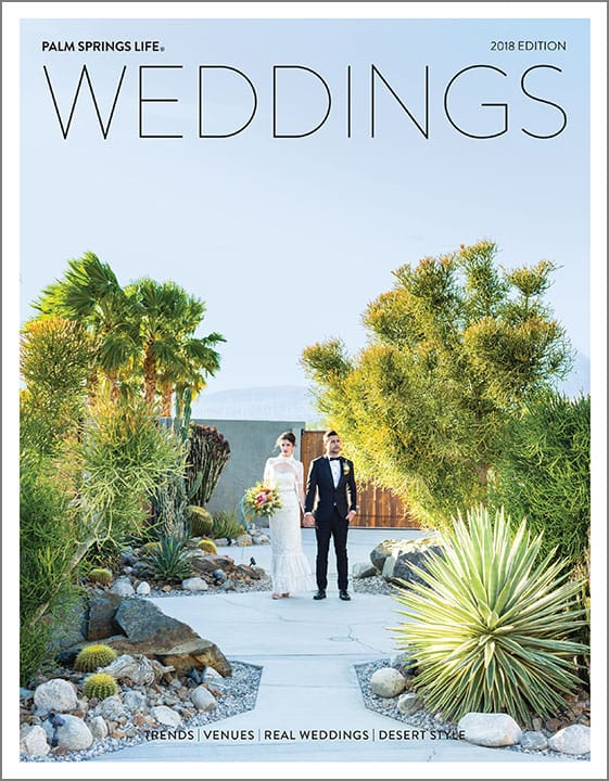 2018 Palm Springs Life Weddings