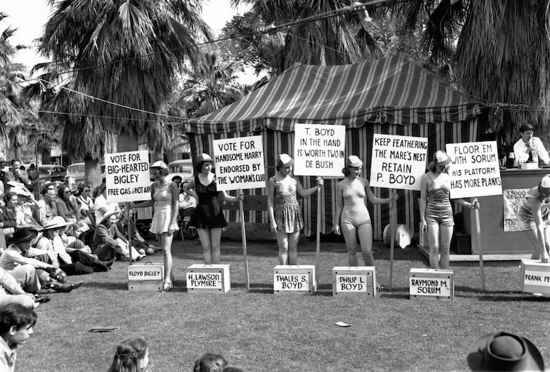 Palm Springs 1940 Election Had Strict Guidelines, No Absentee Ballots