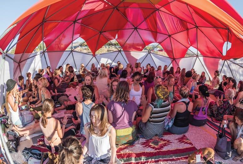 Shakti Fest Sets up Camp in May at Joshua Tree Retreat Center