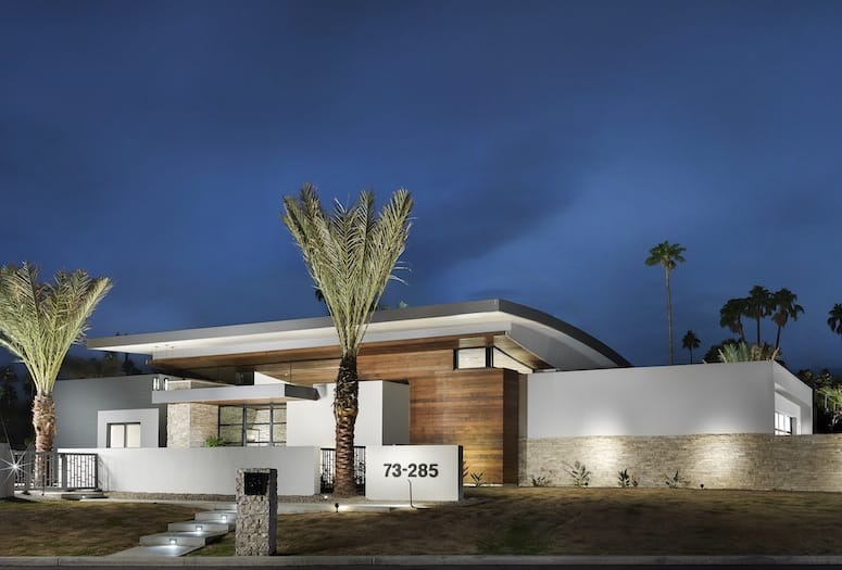 Angela Harris Interiors Give Dynamic Look to Palm Desert Home