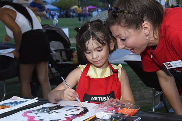 Warhol in the Park Engages Little and Big Artists at Coachella
