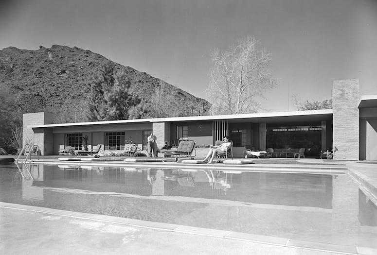 Herbert W. Burns Tribute Notes Architect's Palm Springs Contributions