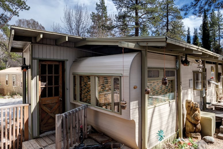 Dazzles Owners Find Solace From Heat at Idyllwild Trailers