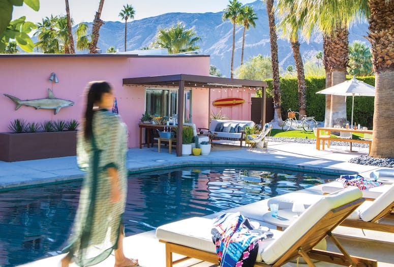 Kenya Knight Design Mixes Beach Vibes, Moroccan in Palm Springs