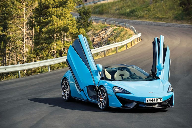 McLaren 570S Spider is a Jaw-Dropping Supercar