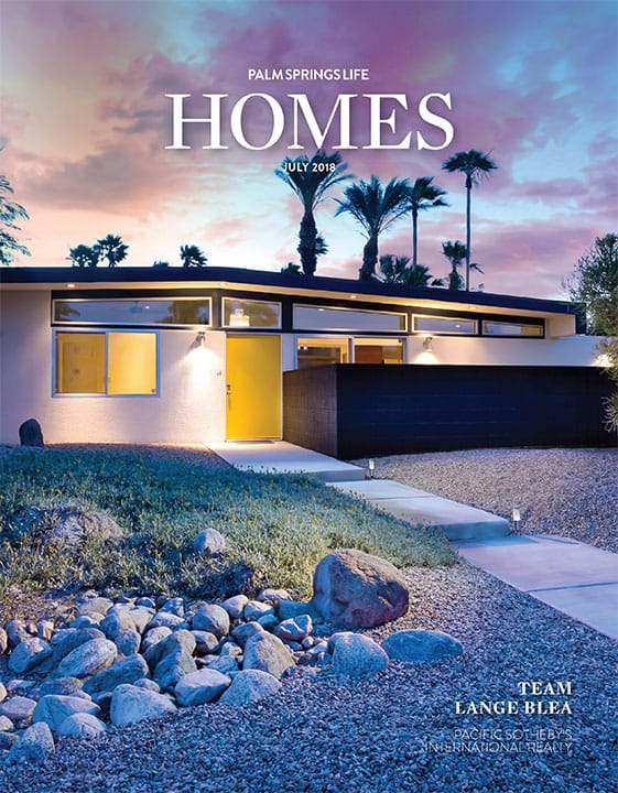 Palm Springs Life Homes July 2018