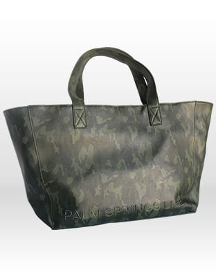 Palm Springs Life Camouflage Tote Bag