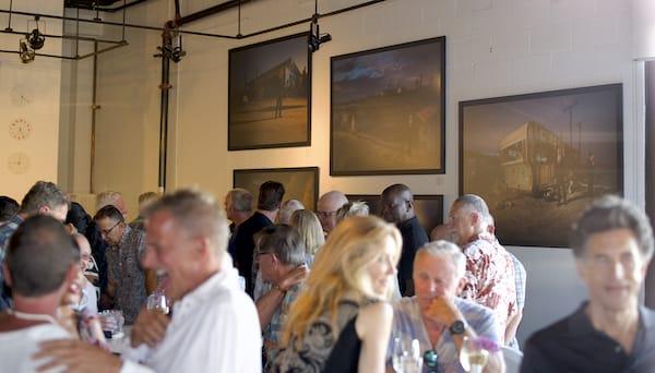 Photos at Eight4Nine Restaurant Raise Awareness of Salton Sea Crisis