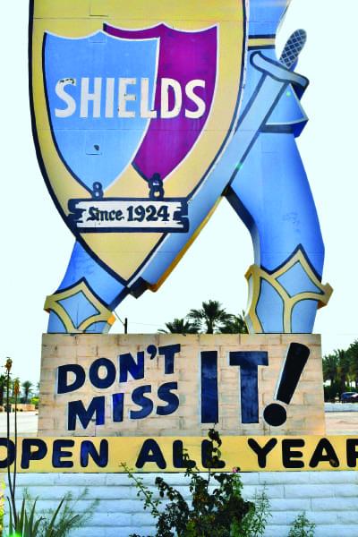 Shields Cafe Indio