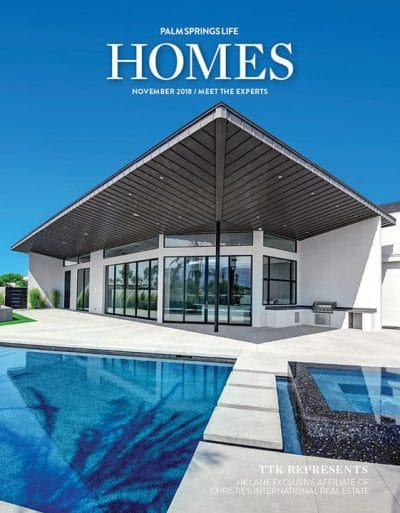 Palm Springs Life Homes November 2018