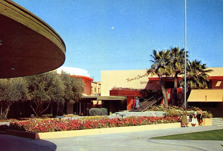Town & Country Café in Palm Springs Opens its Doors in 1948