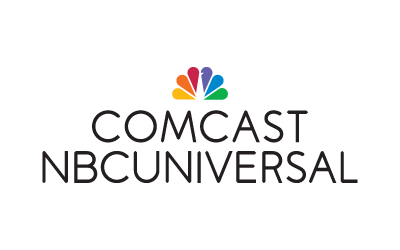 comcast nbcuniversal logo icon and logo type