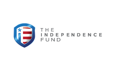 the independence fund logo icon and logo type