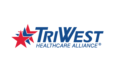 triwest healthcare alliance logo and logo type
