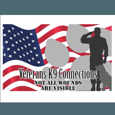 veteran k9 connection logo type logo icon