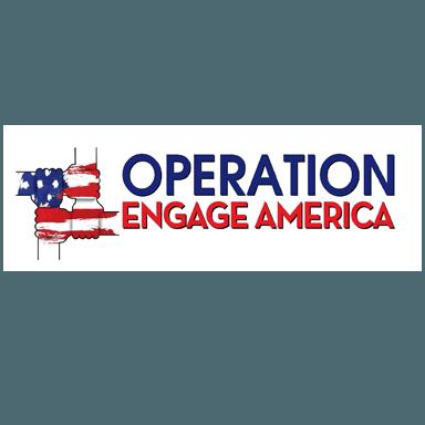 operation engage america logo type logo icon