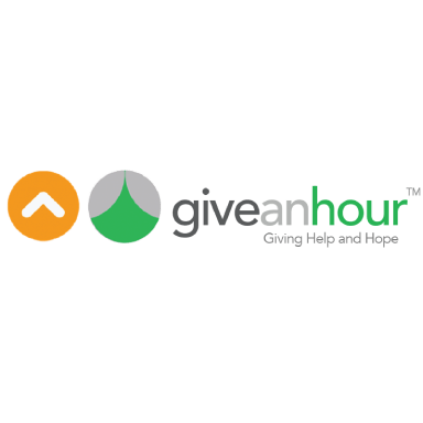 Give and Hour logo type logo icon