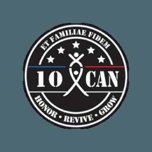 10 can logo type logo icon veteran registry