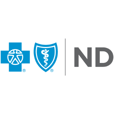 blue cross blue shield north dakota logo type logo icon