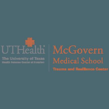 ut health trauma and resilience center logo type logo icon