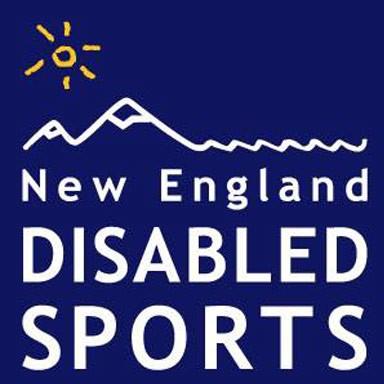 new england disabled sports logo type logo icon