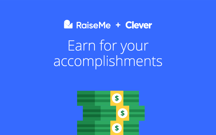 RaiseMe is available in the Clever Library