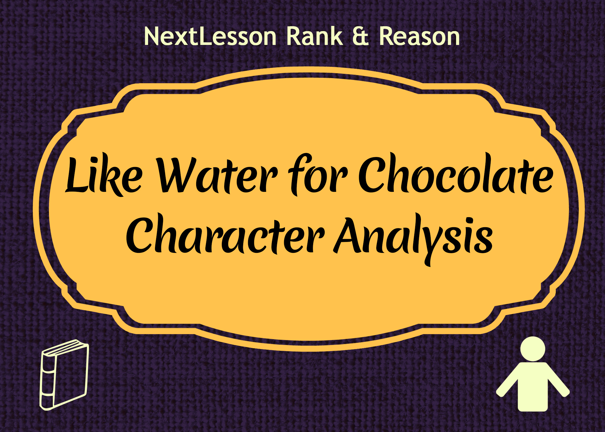 "a literary analysis of like water for chocolate by laura esquirel Magical realism in 'like water for chocolate ""like water for chocolate"" is a contemporary romantic novel by laura esquivel who decided to depict in her."