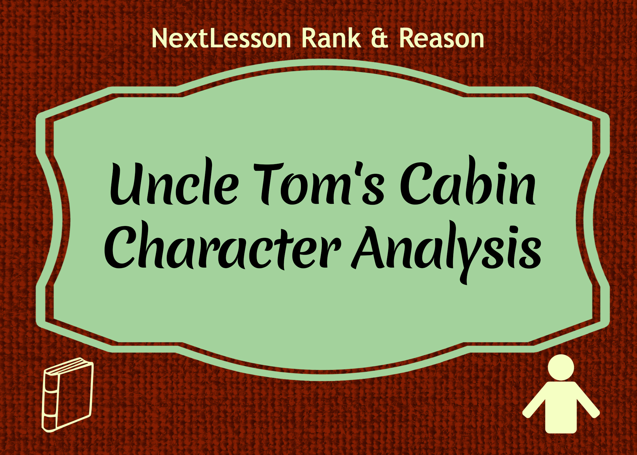 character analysis from uncle toms cabin