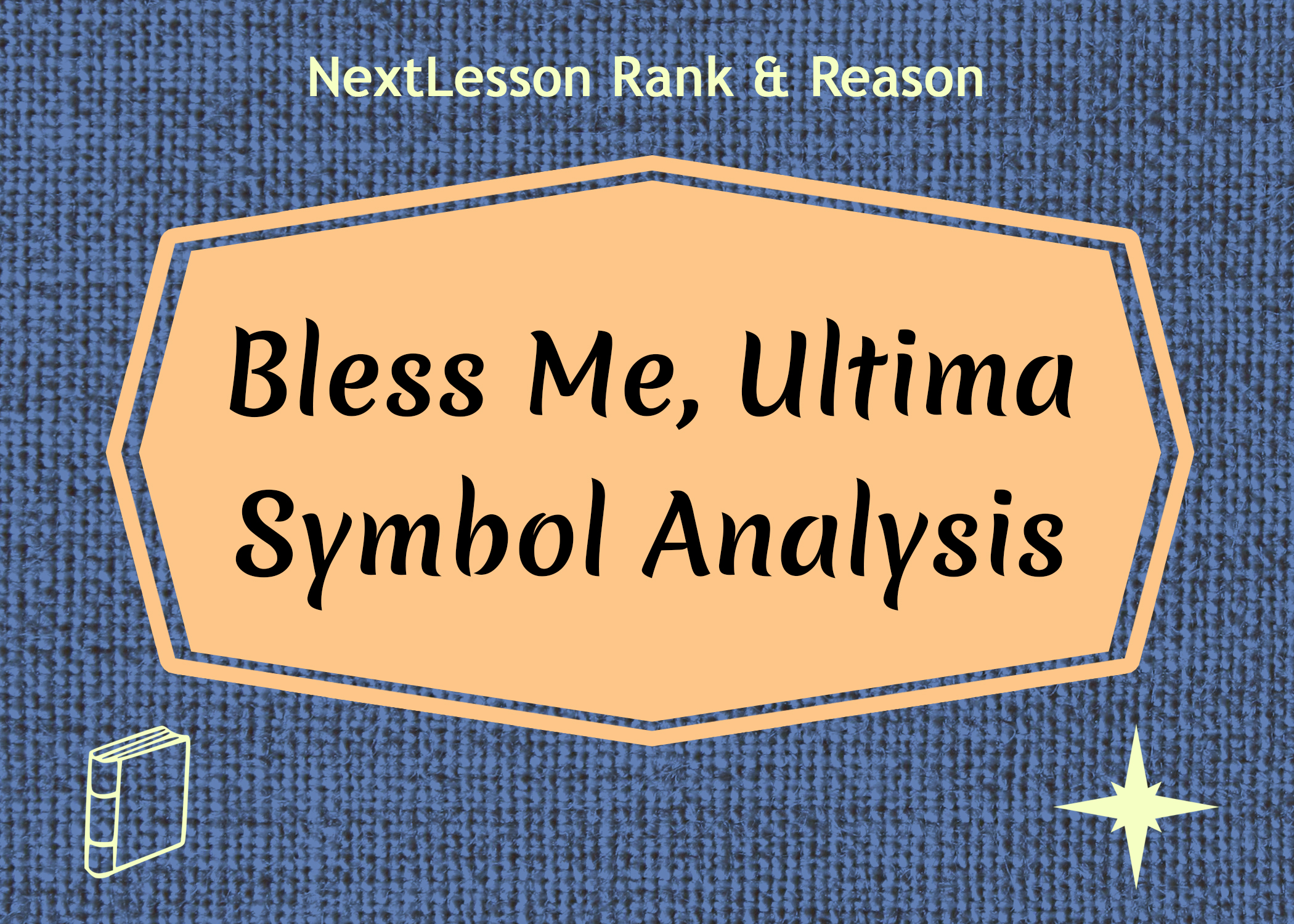 bless me ultima research paper essay Please do not submit late assignments (except research paper) to google classroom  discussion of bless me ultima – characterization focus-characdev.