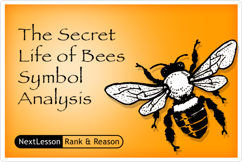 the secret life of bees symbolism Bee symbolism: in the secret life of bees, sue monk kidd uses bees to symbolize the main character, lilyin the beginning of this book, lily opens the lid on a jar of bees and expects them to fly out, free of their captivity.