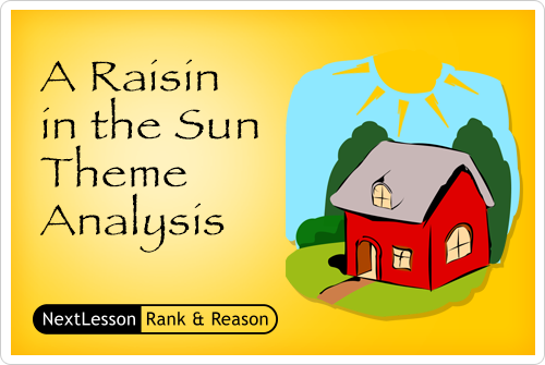 analytical essay on a raisin in the sun The social and economic conditions depicted in lorraine hansberry's a raisin in the sun.